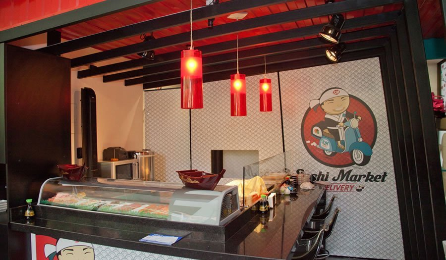 LAMPARAS-FOKUSS-PROYECTOCOMERCIAL-SUSHIMARKET-COLOMBIA