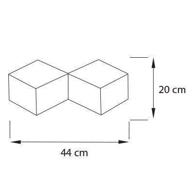 Lampara-Cubic-de-pared-AP2-medida