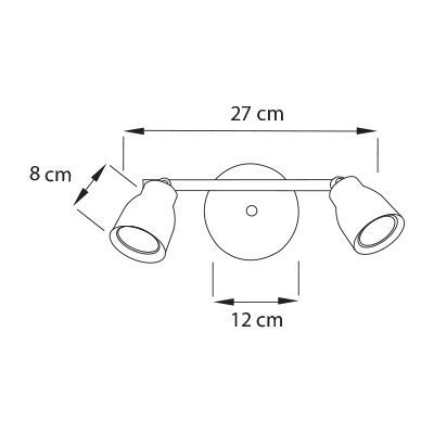Lampara-Fenix-spot-2L-Medidas