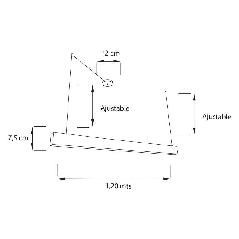 Lampara-Lineal-54-Proyecto-Colgante-Medida jpg