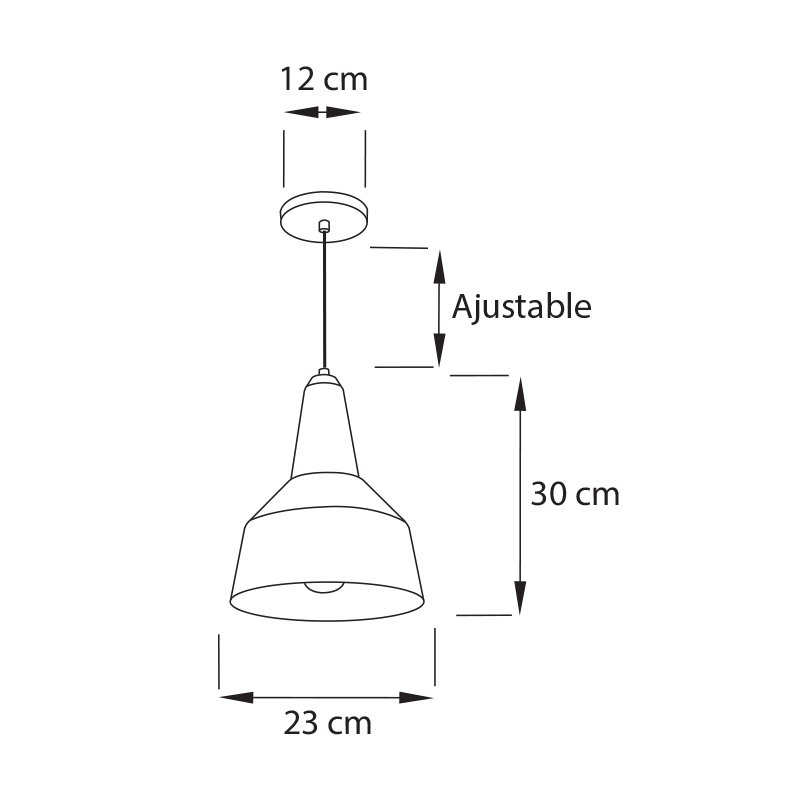 Lampara-Romana-Colgante-CO1-Medida