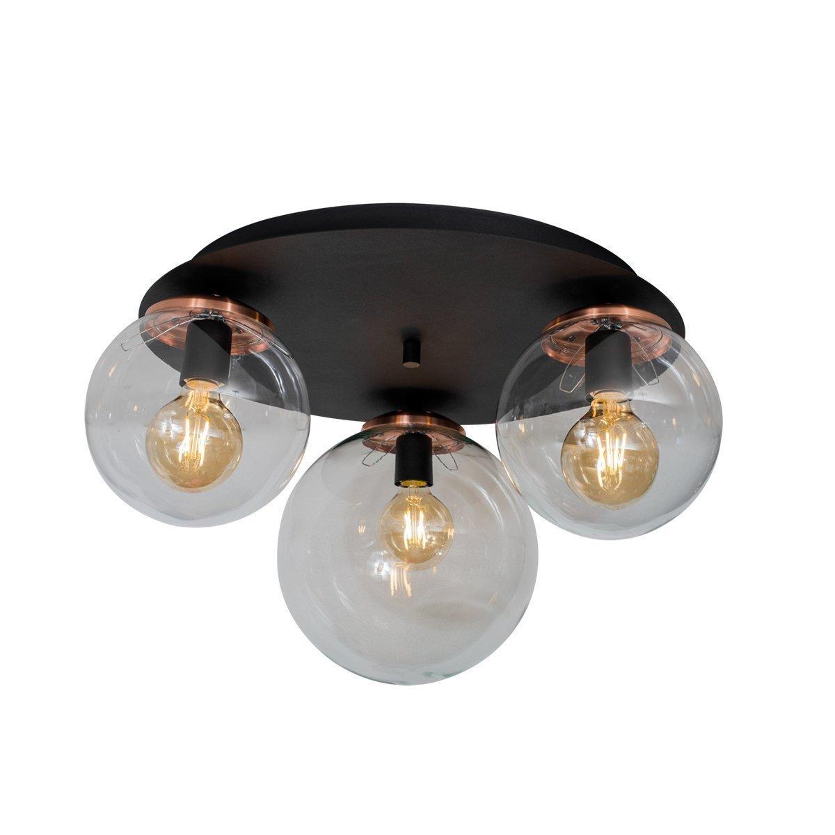 Lámpara Silvana B25-15 Plafón PL3