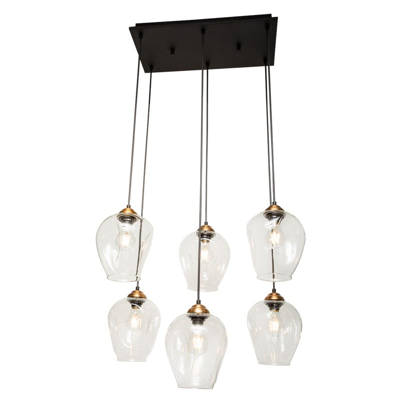 Lámpara Veracruz Transparente Colgante CO6