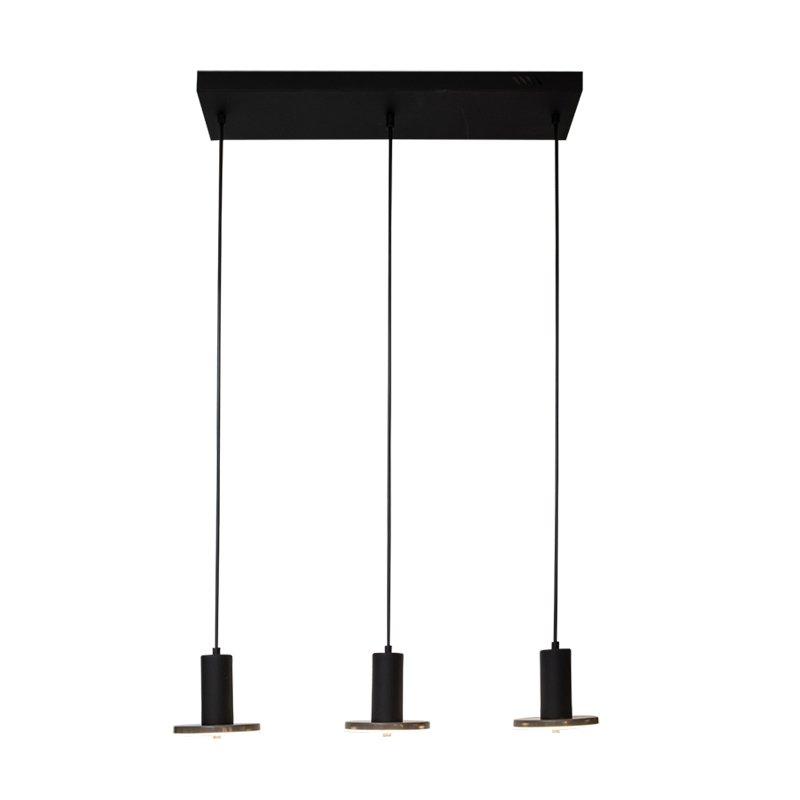 Lámpara Vintra Led Colgante Riel 3L