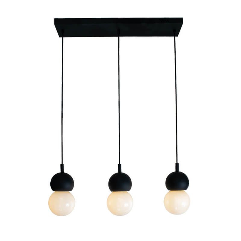 Lámpara Ankara Riel Colgante 3L