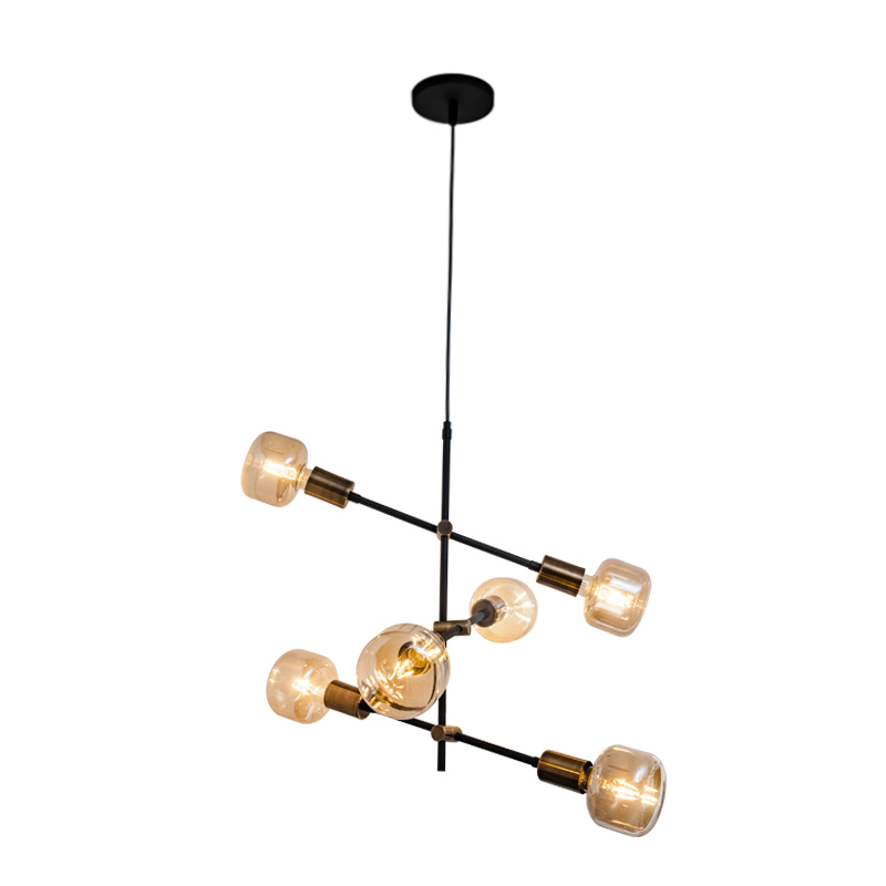 Lámpara Dinamo Thor Colgante CO6