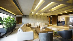 Proyecto residencial casa San Marino iluminación con lámparas Fokuss