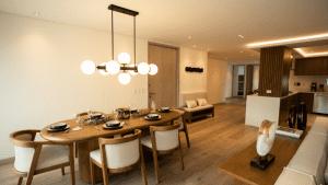 Diseño de iluminación para comedor en proyecto residencial Torre Dalí