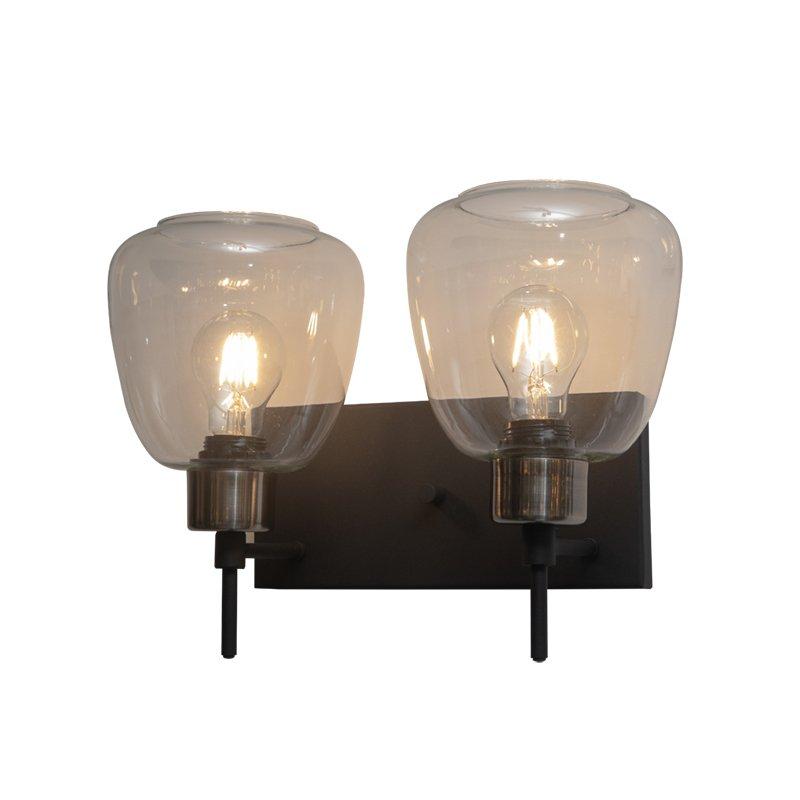 Lámpara decorativa de pared Niza 2 luces